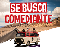 Everything from digital to the Se busca Comediante -MEX
