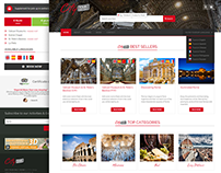 City Sightseeing Booking Website