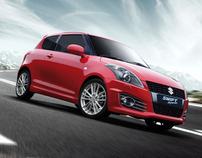 Suzuki Swift Sport : Before to After
