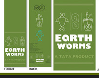 Earthworm package design.