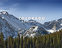 Colorado Mountain Club Brand Identity
