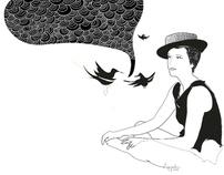 conversa com pássaros