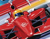 Detroit Grand Prix Poster