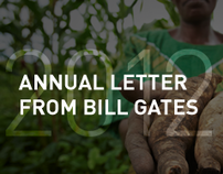 Bill Gates Annual Letter 2012: Interactive