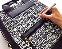 Bartaile Bag Lettering