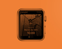 Easyjet - Apple Watch App concept