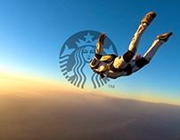 Starbucks Skydive Storyboards