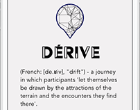 derivé - tourism and travel mobile application