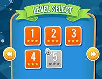 Tap N' SLIDE (Game UI Design)