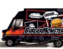 Foodtruck design (BurgerMonster)