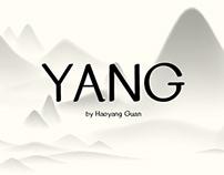 Free Font-- YANG