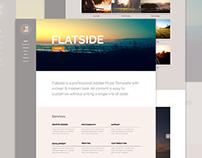 Flatside - OnePage Muse Template