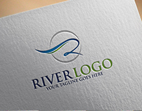 River | Logo Template
