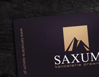 Saxum - law firm branding