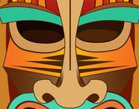 Africano Mask