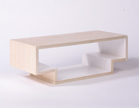 Linjär Coffee Table for IKEA