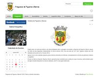 WebSite - Freguesia de Figueira e Barros