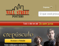 Wallstreet Posters Website