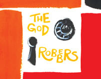The God Robbers Book Cover Design