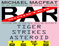 Michael Macfeat: BAR SINISTER / Curated by Terri Saulin