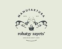 Rohatyy Zayets' – craft cider