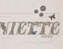 Marie Antoinette Typography