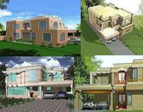DESIGN & CONSULTANCY OF HOUSING UNITS 4500 SFT. & ABOVE