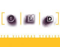 BRANDING & WEB SITE: Ted Villegas Studios