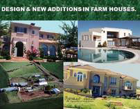 DESIGN DEVELOPMENT & MODIFICATIONS OF FARM HOUSES