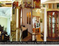DESIGN & PROJECT MANAGEMENT OF 1-KANAL BUNGALOW IN LHR.