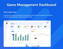 Analysis Dashboard UI/UX Design