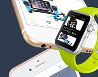 iOS 9 Ecommerce Mobile UI Kit