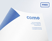 Free curved paper mockup
