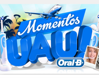 "New Oral-B Vitality (website) - ""Momentos UAU"" contest"