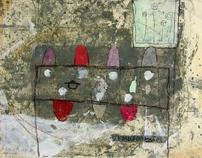 Liesbet Tol, schilderijen op doek, paneel en papier