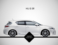 SVBmedia | Lexus CT200h case