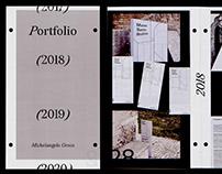 Personal Portfolio 2019