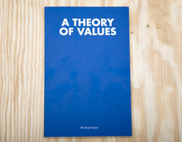 A Theory of Values book for The Soap Factory