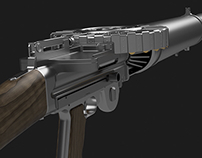 Lewis Gun Modeling (All parts)