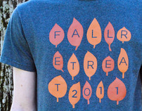 Fall Retreat Tee Shirt Design