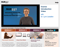 UNCG, Online Course Development, NUR551