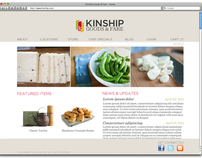 Kinship Website Design