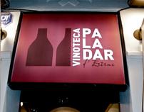 PALADAR VINOTECA - Corporate Identity