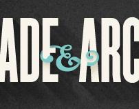 Spade & Archer typography