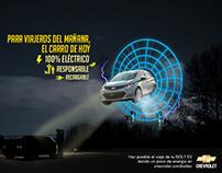 BOLT EV / VIAJEROS DEL MAÑANA / CHEVROLET