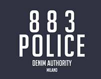 883 POLICE CLOTHING BRANDING