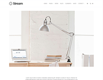 Single Post Portfolio - Stream WordPress Theme