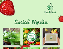 Social Media - Hortileve