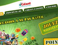 Géant Tunisie : Jeu Chariot gagnant