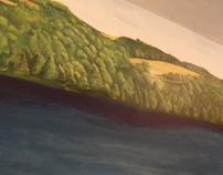 40' Landscape Mural